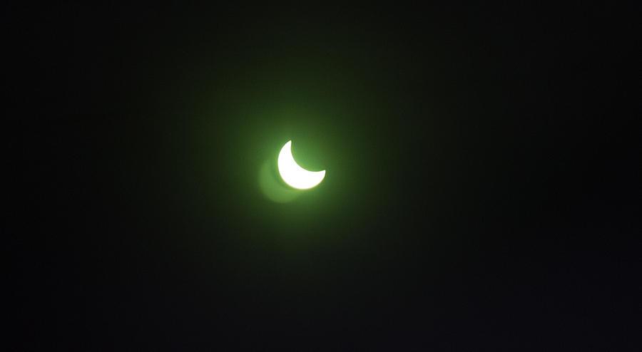 Solar Eclipse Photograph - Solar Eclipse by Irina Effa