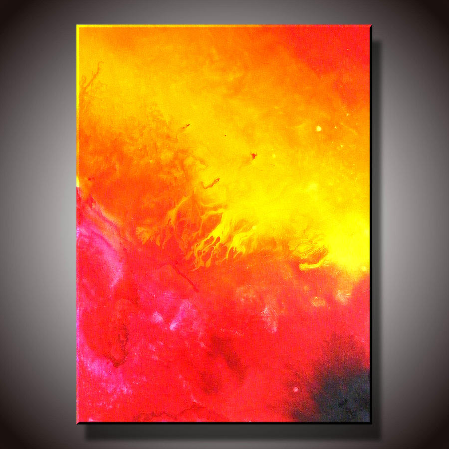 Modern Painting - Solar by Gregory Morss