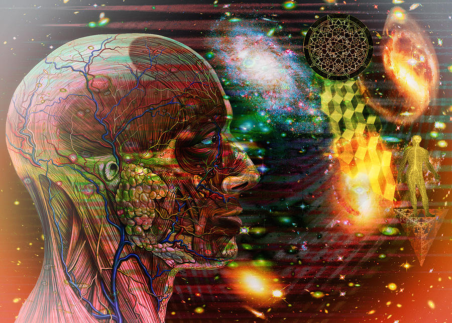 Awakening Digital Art - Solar Insight Of by Joseph Mosley