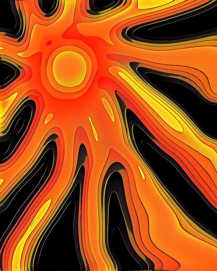 Solar Space Digital Art