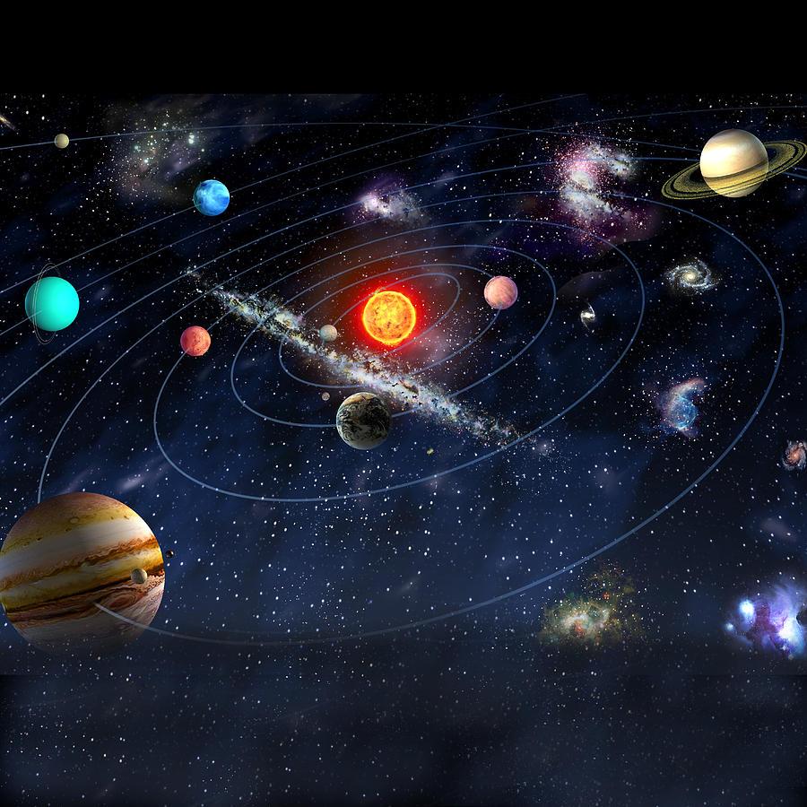 картинки космоса и планет солнечной системы этому