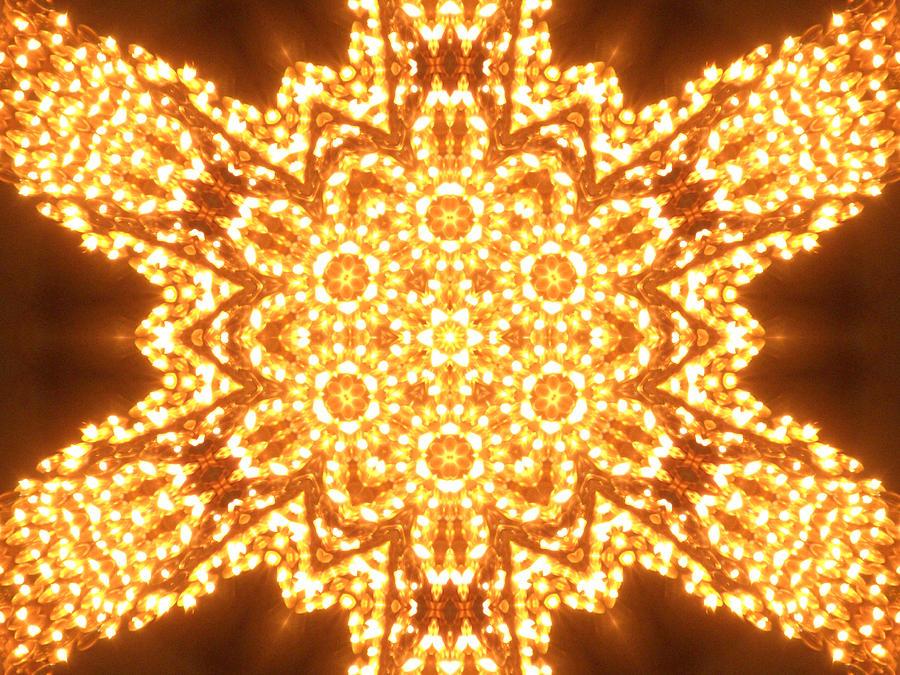 Candle Digital Art - Solar Telepathy by Filip Klein
