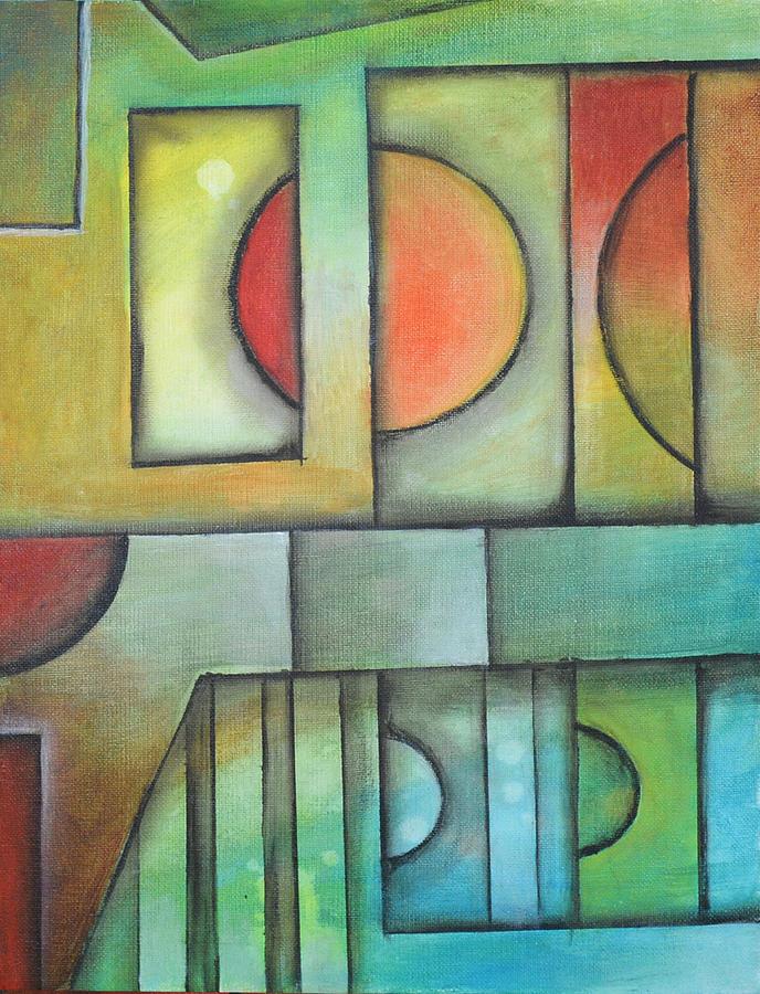 Solaris Insomnia Painting by Arkadiusz Kulesza