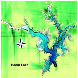 sold Badin Lake In Cental North Carolina Digital Art by Ron West