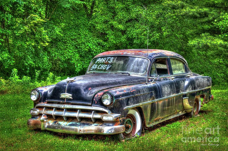 Sold For Parts 1954 Chevrolet 210 4 Door Sedan Art Photograph by ...
