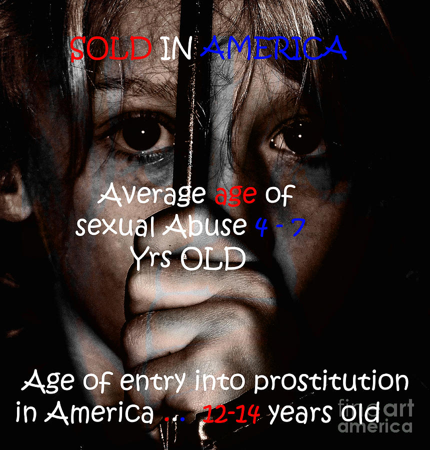 Abuse Painting - Sold In America by Tbone Oliver