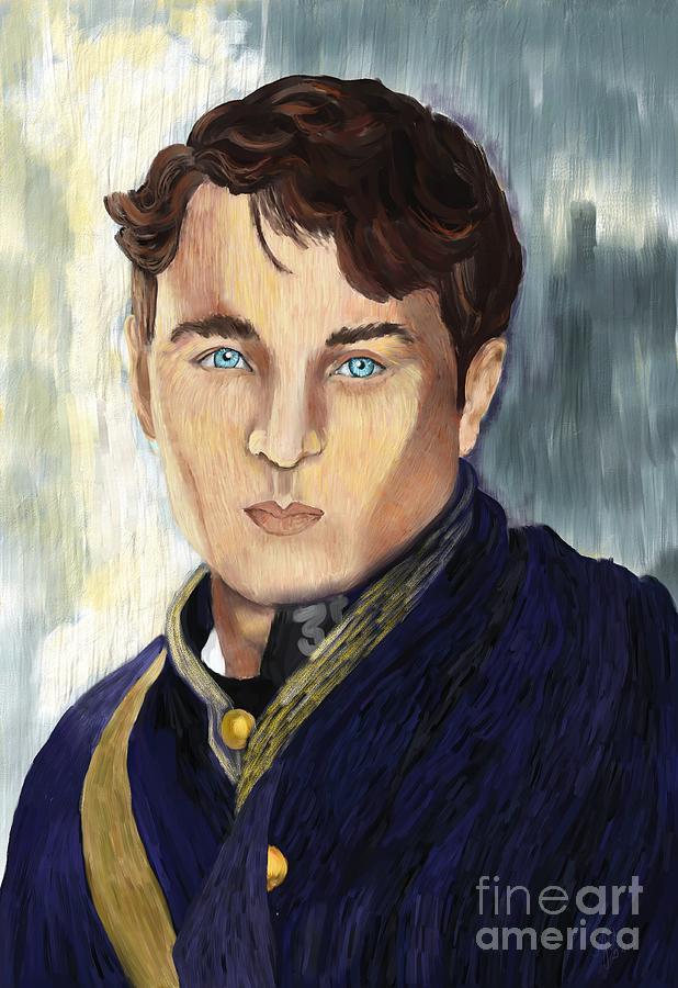 War Digital Art - Soldier Blue by Sydne Archambault