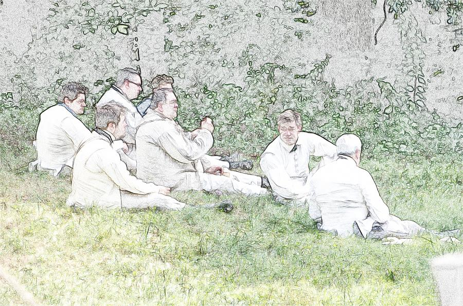Soldiers At Rest Digital Art