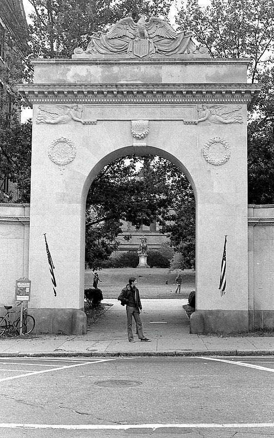 Soldiers Memorial Gate, Brown University, 1972 by Jeremy Butler