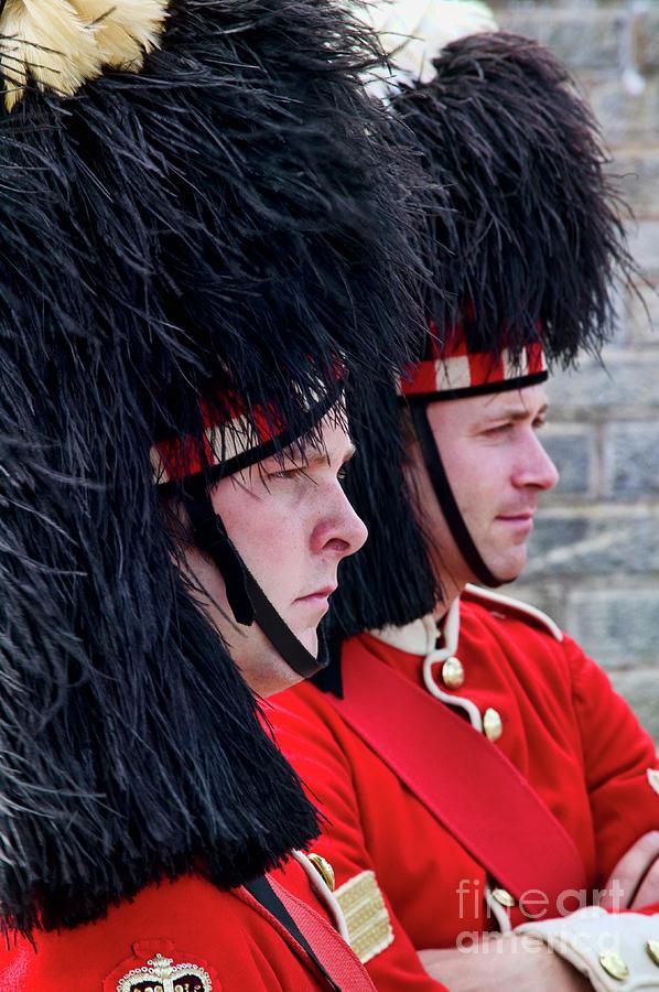 Nova Scotia Photograph - Soldiers by Scott Kemper