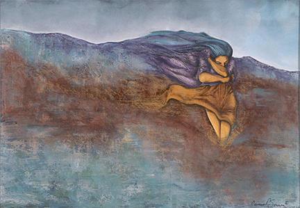 Soledad Mixed Media by Carmen R Sonnes
