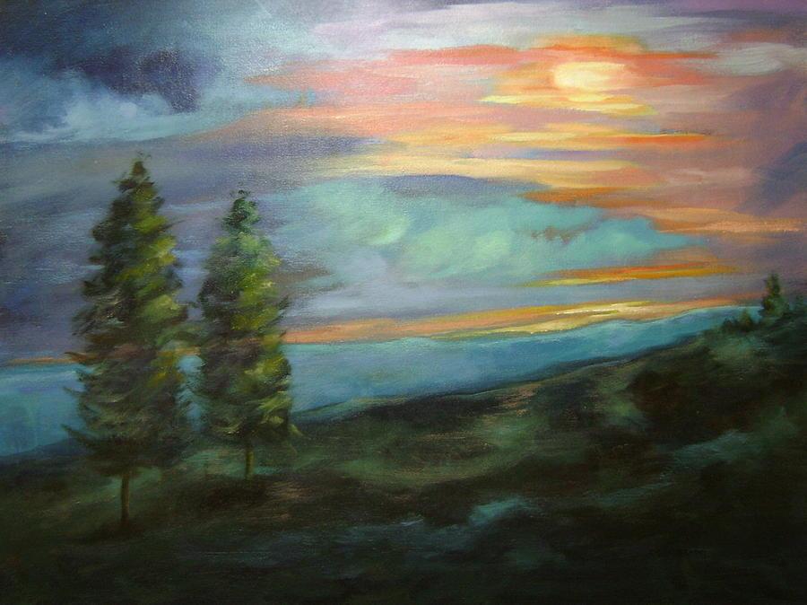 Landscape Painting - Soledad by Ginger Concepcion