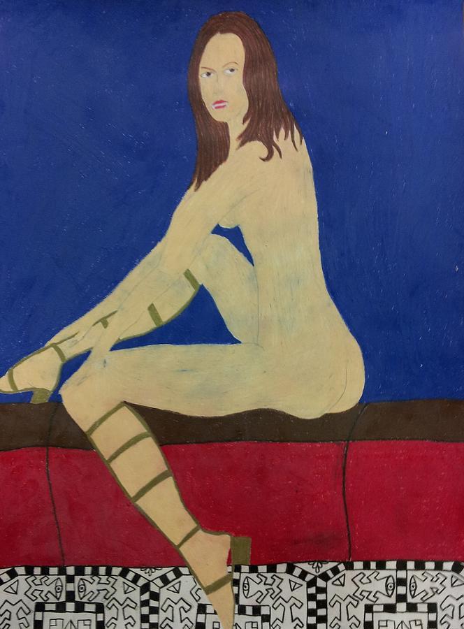 Soledad Miranda Drawing