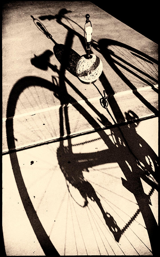 Bicycle Photograph - Solidflat by Salvatore Corcione