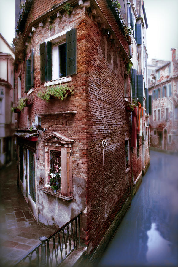 Venice Photograph - Soliloquy by Warren Home Decor