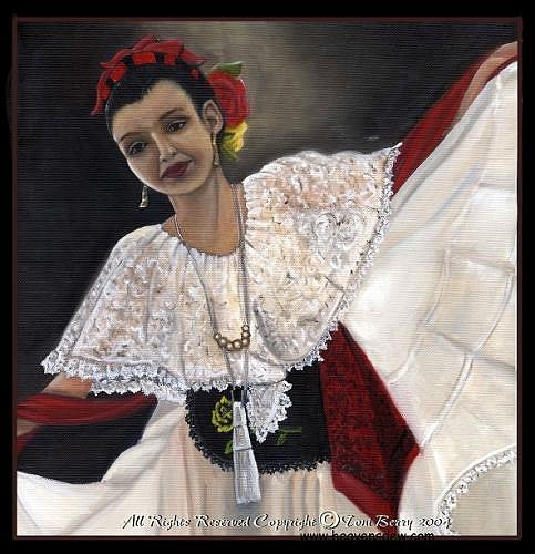 Solita Painting by Toni Berry