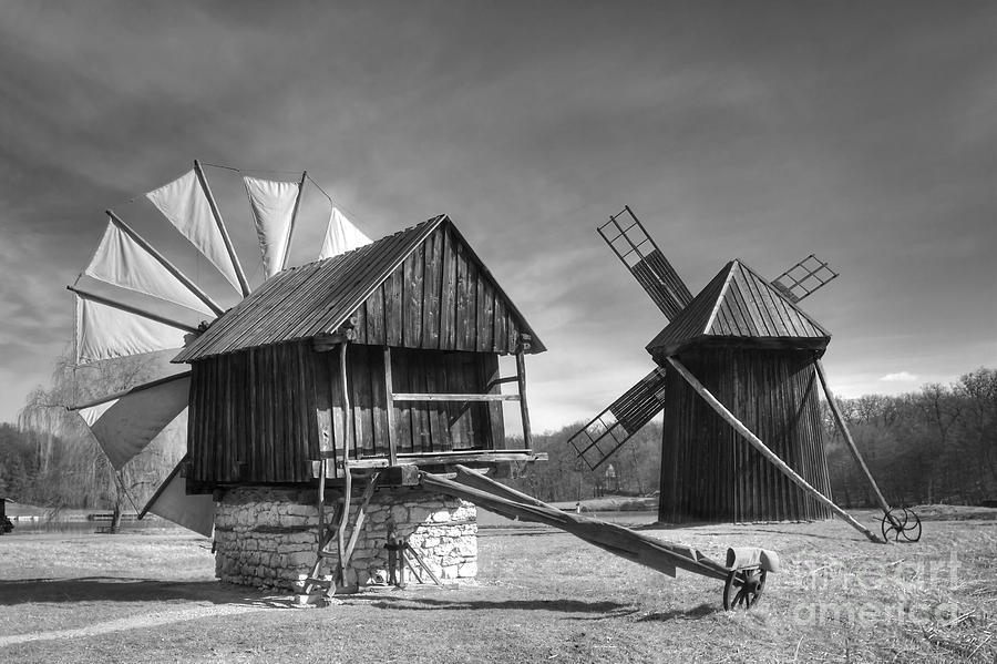 Windmill Photograph - Solitaire by Gabriela Insuratelu