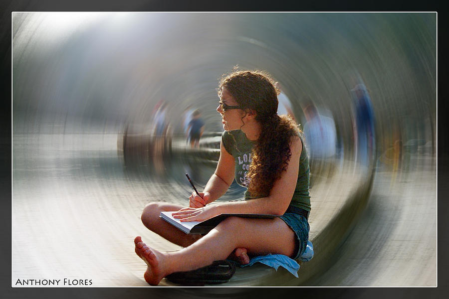 Woman Photograph - Solitude by Anthony Flores