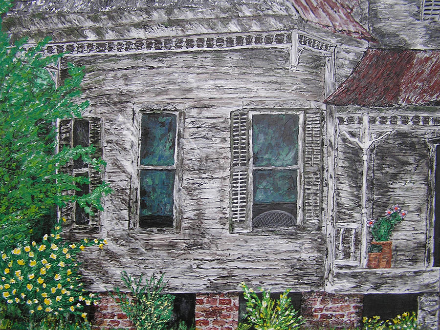 House Painting - Solitude Awaits by Ricklene Wren