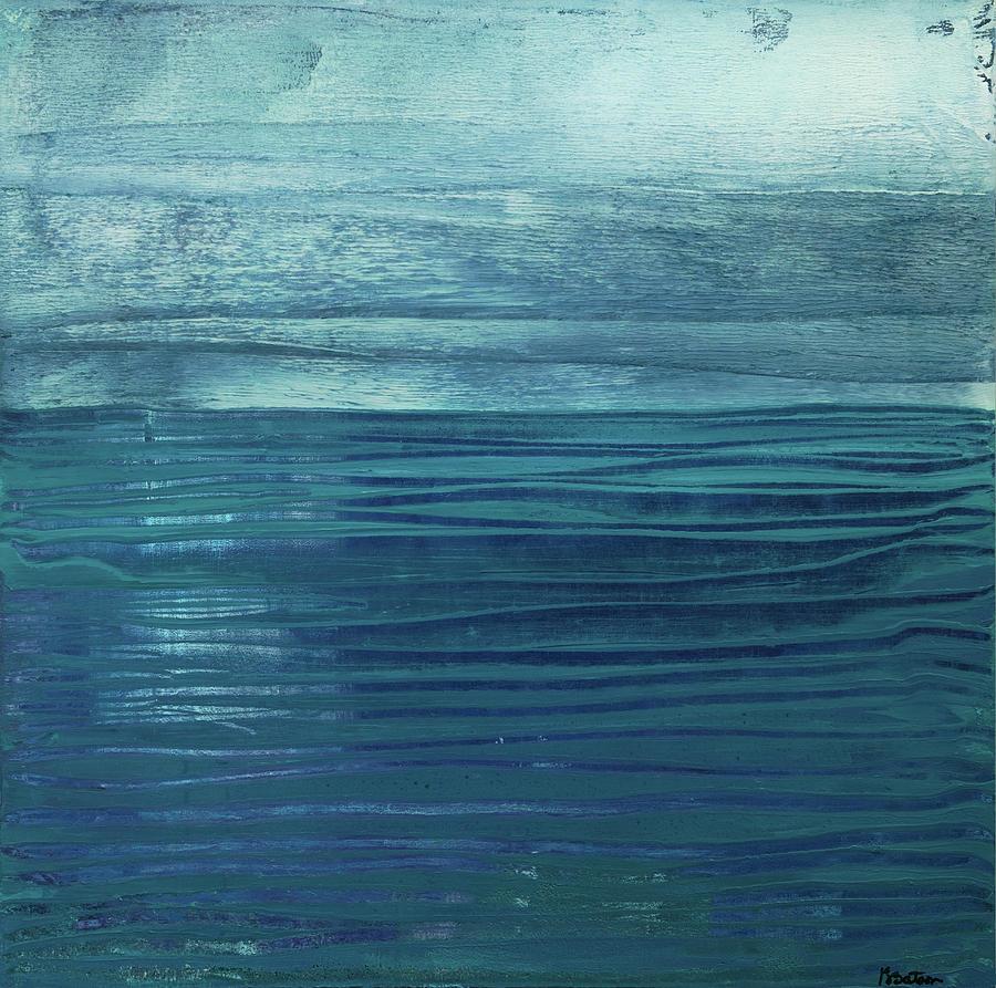 Canvas Print Painting - Solitude by K Batson Art