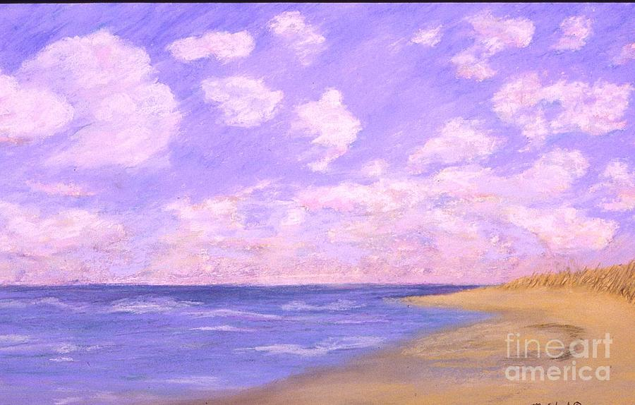 Seascape Painting - Solitude by Mary Erbert