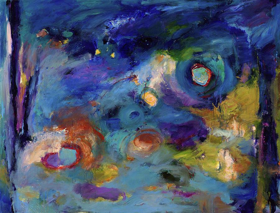 Abstract Art Painting - Solitude Of Dreams by Johnathan Harris