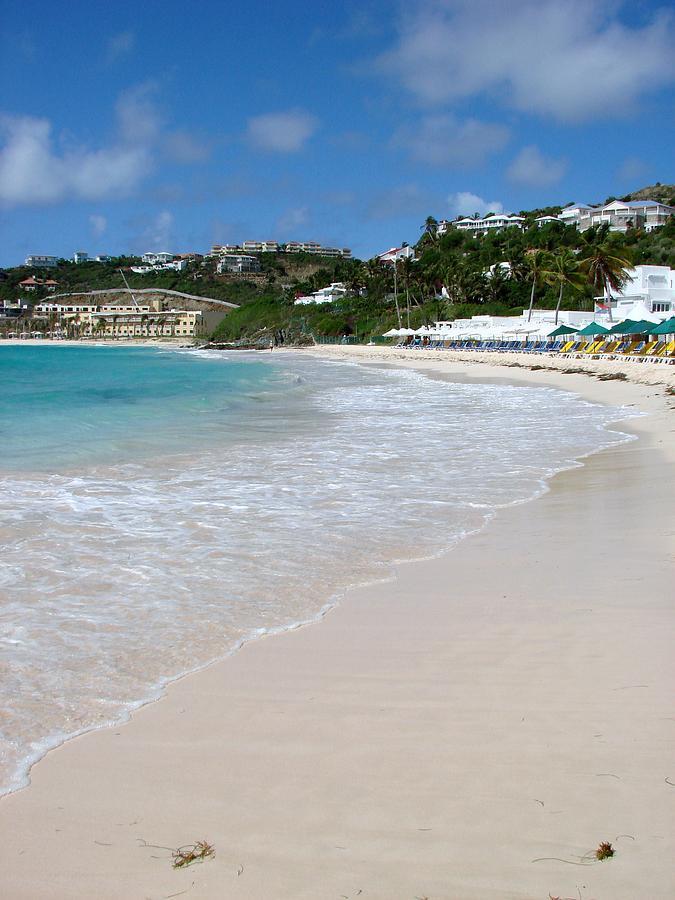 Caribbean Photograph - Solitude On Dawn Beach by Margaret Bobb