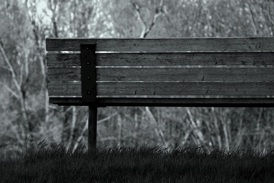 B&w Photograph - Solitude by One Peace Images