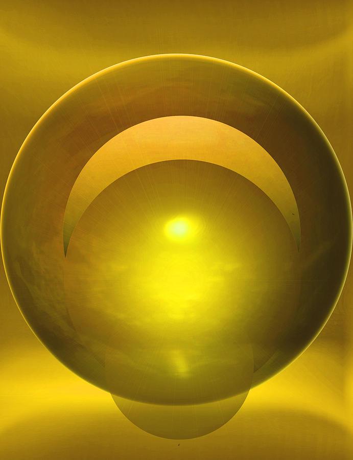 Abstract Digital Art - Solstice by John Krakora