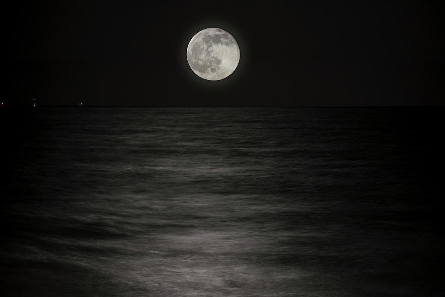 Super Moon Photograph - Solstice Moon by Rick Bravo
