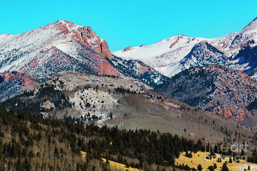 Solstice Pikes Peak Photograph