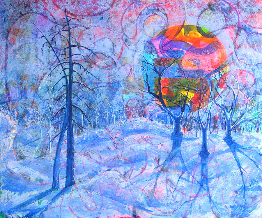 Winter Painting - Solstice by Rollin Kocsis