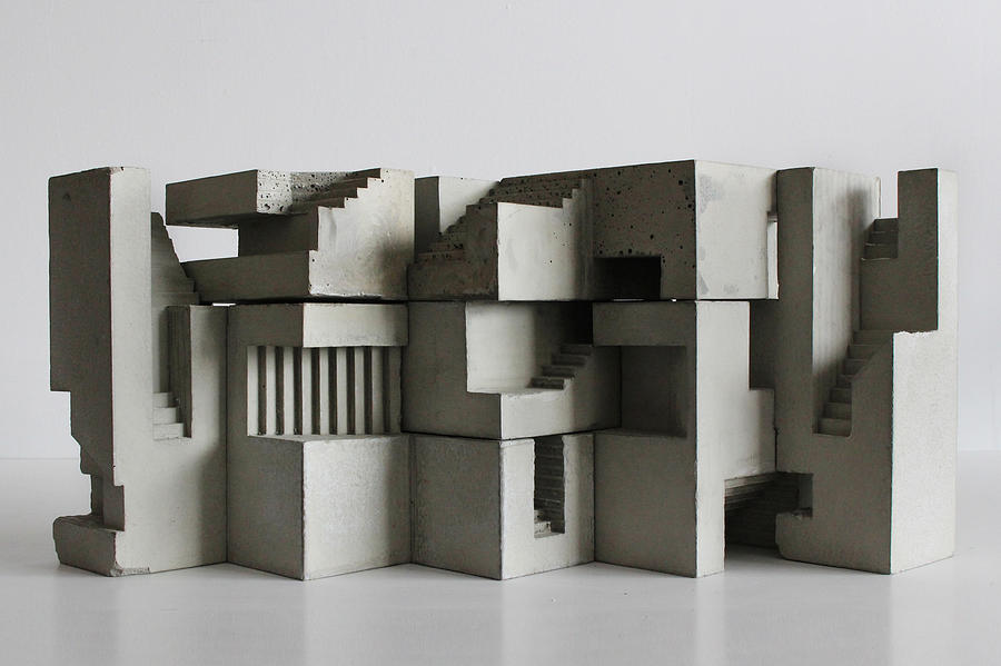 Architecture Photograph - Soma Structure 7 by David Umemoto