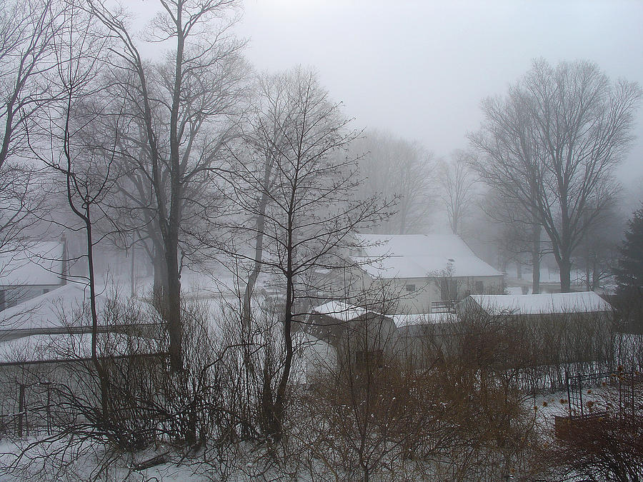 Palenville Photograph - Somber February Morn At A Palenville Homestead by Terrance DePietro