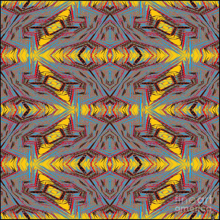 Mspaint Digital Art - Some Color 85 by MKatz Brandt