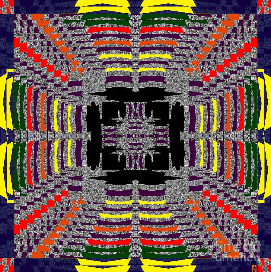 Mspaint Digital Art - Some Color 86 by MKatz Brandt