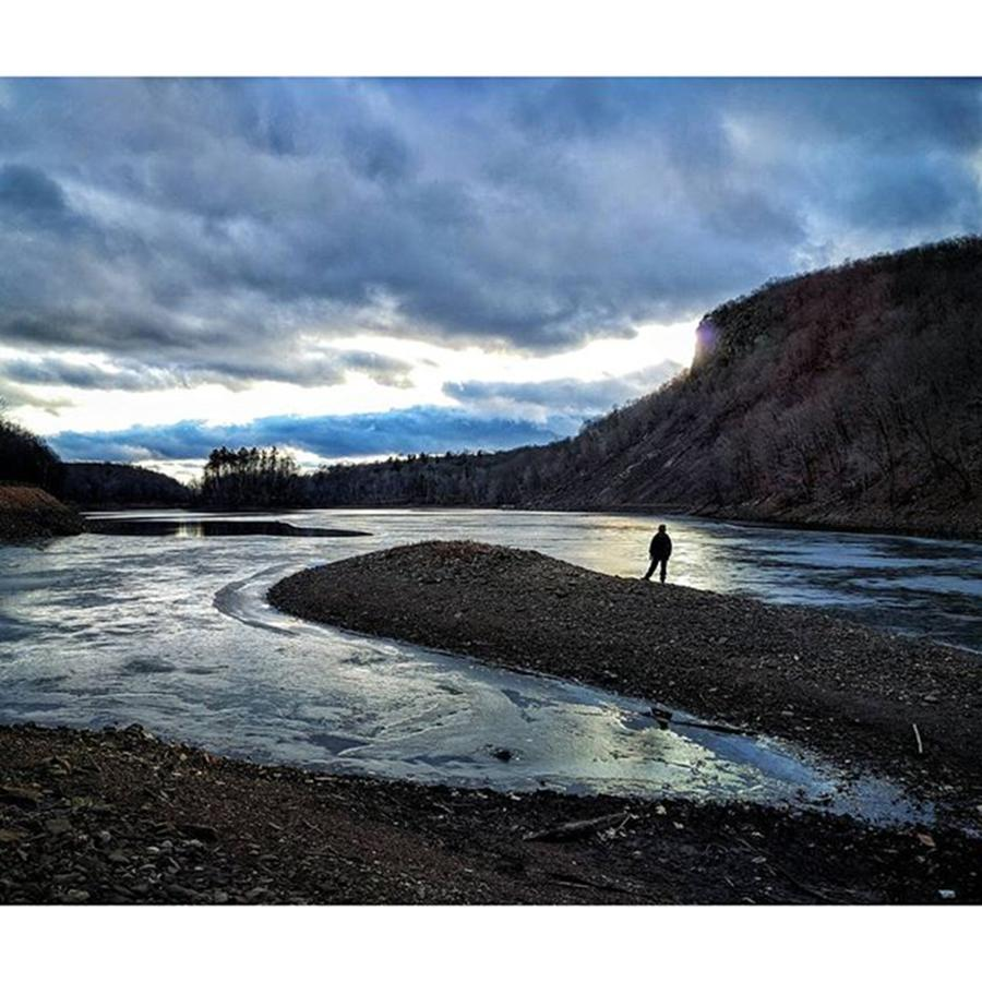 Hike Photograph - Some Cool Skies This Afternoon. #hike by Craig Szymanski