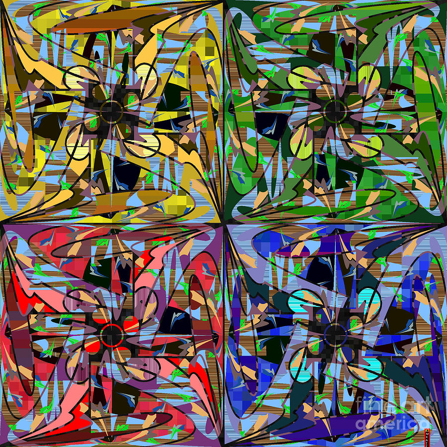 Created By Digital Art - Some Harmonies And Tones 87 by MKatz Brandt