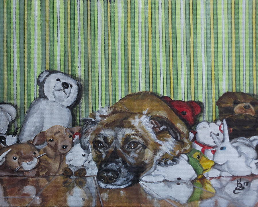 Acrylic Painting - Some Of My Favorite Things by Kim Selig