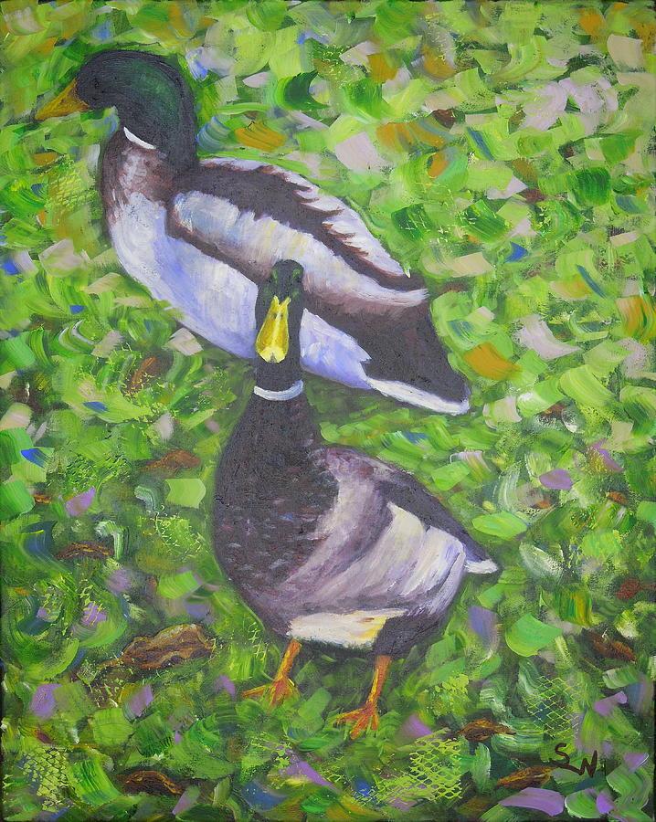 Somerset Ducks by Shirley Wellstead