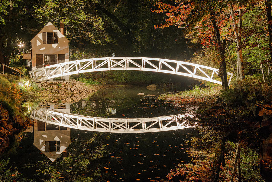 Somesville Bridge by Gary Lengyel