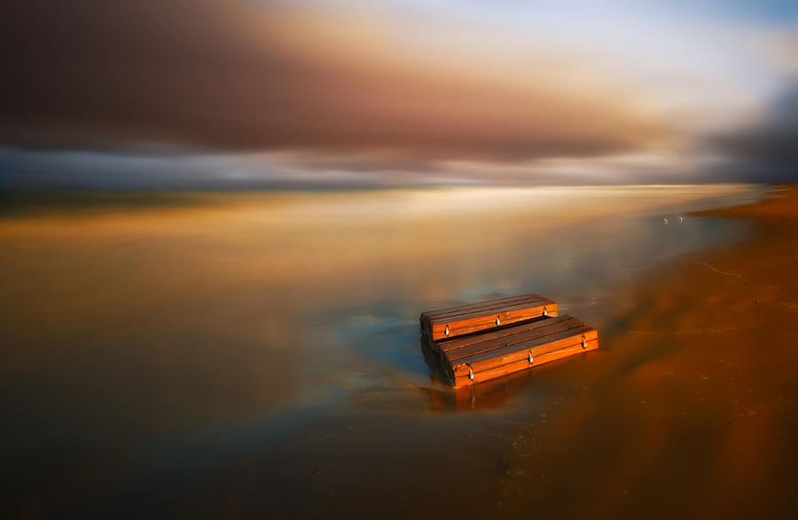Beach Photograph - Something ... by Piotr Krol (bax)
