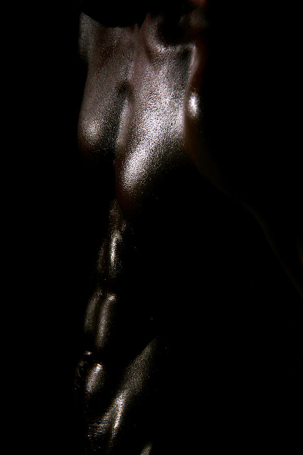 Artistic Nude Photograph - Something Dark  by Mark Ashkenazi