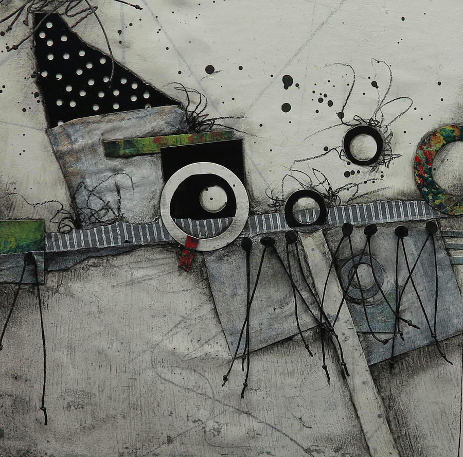 Collage Mixed Media - Something Different  by Laura Lein-Svencner