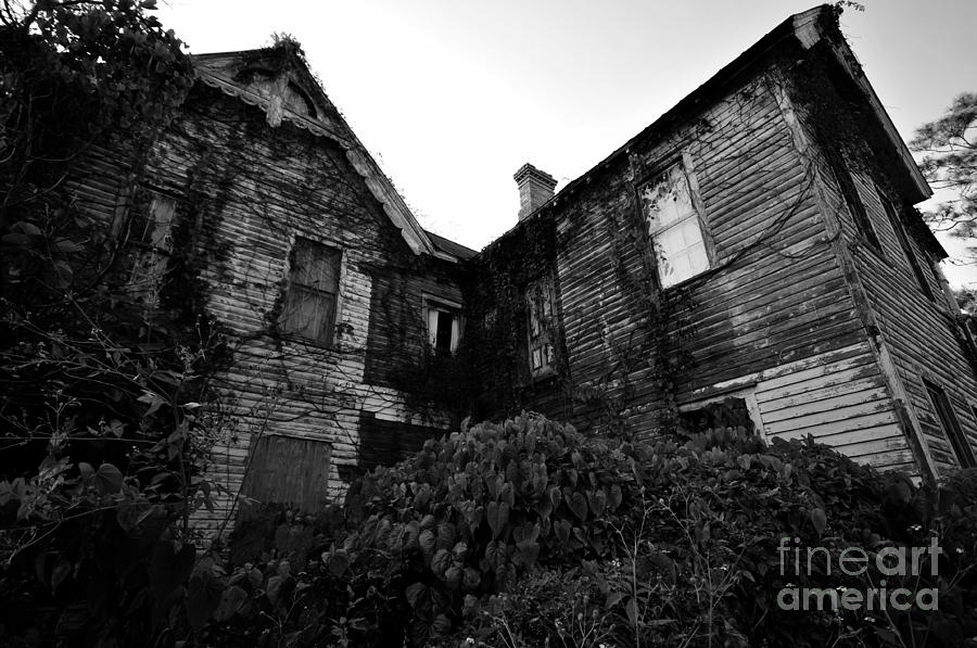 Spooky Photograph - Something In The Window by David Lee Thompson