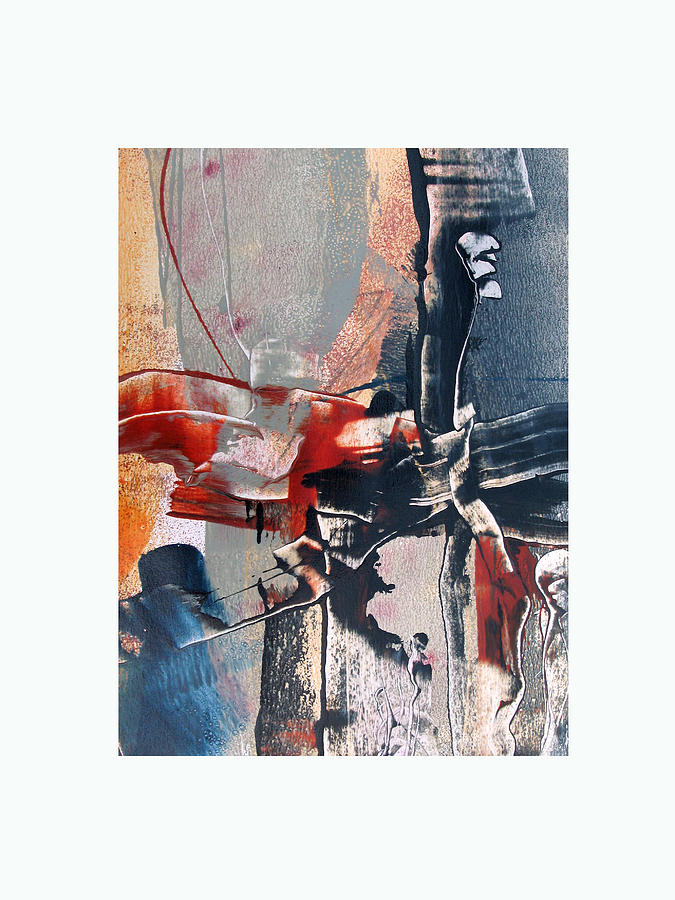 Abstract Painting - Something New by Thorsten Frank