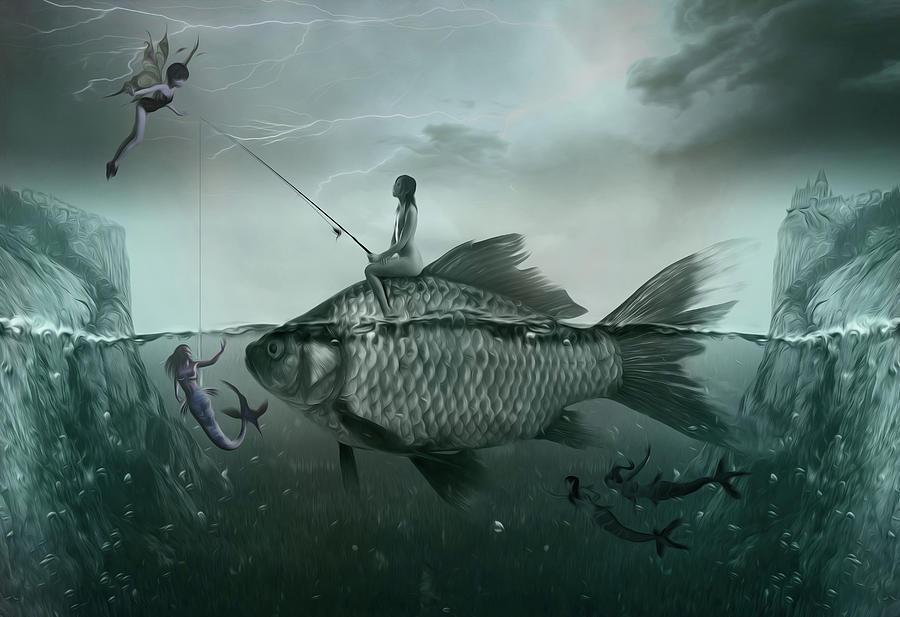 Something Smells Fishy Painting