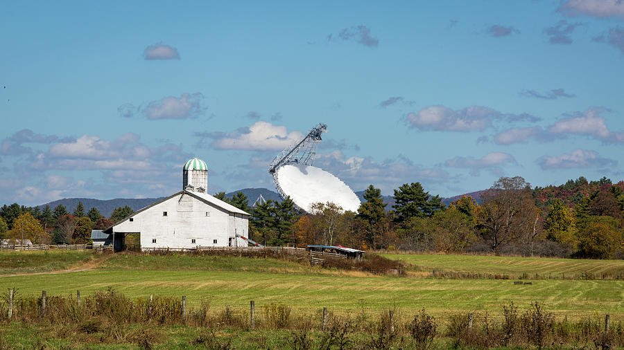 Landscape Photograph - Something Special at the Farm by M C Hood