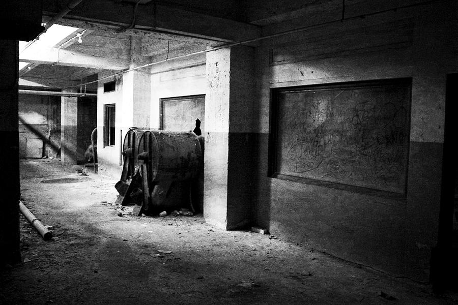 Abandoned Photograph - Something Wicked by Mike McMurray