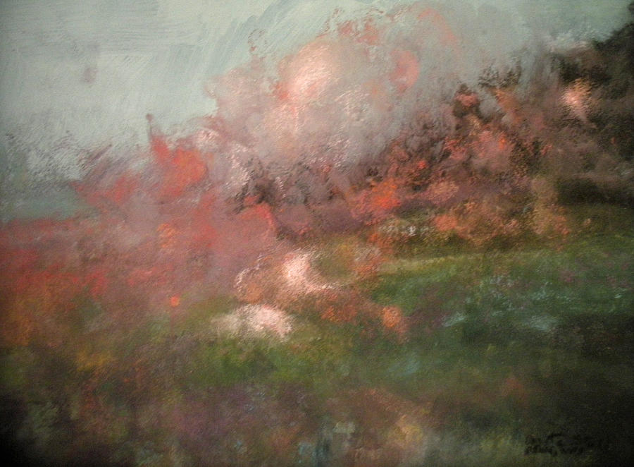 Pastel Pastel - Sometime In Spring by Anita Stoll